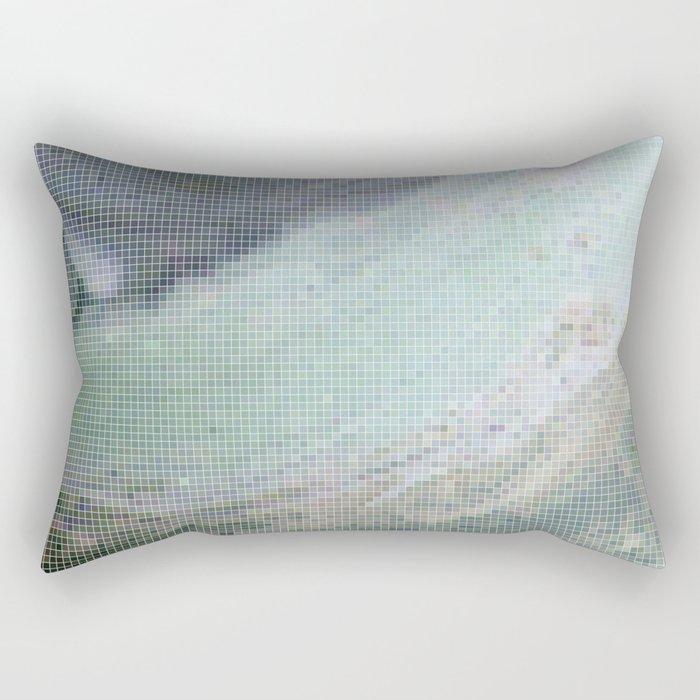 Saturn Infrared Rectangular Pillow