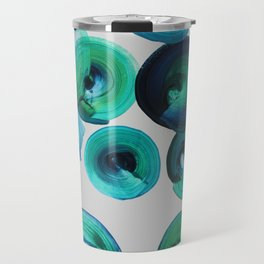 Ocean swirls Travel Mug