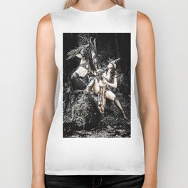 Warriors super girls Biker Tank