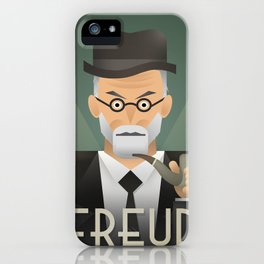 Freud Psychoanalyse Meister iPhone Case