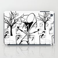 invader zim iPad Cases featuring invader zim by LCMedia