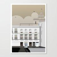 buildings Canvas Prints featuring Buildings by Studio Caravan