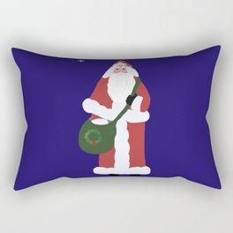 Father Christmas Rectangular Pillow
