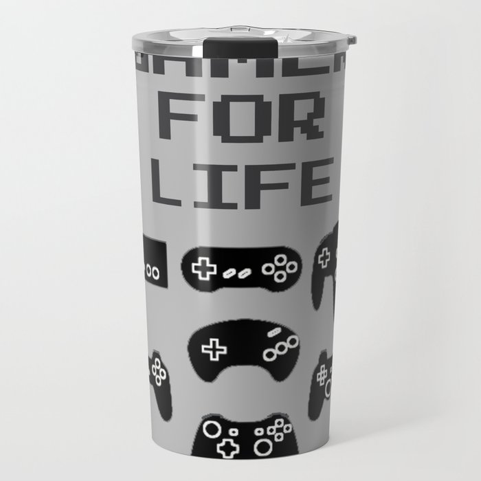 Gamer For Life Travel Mug