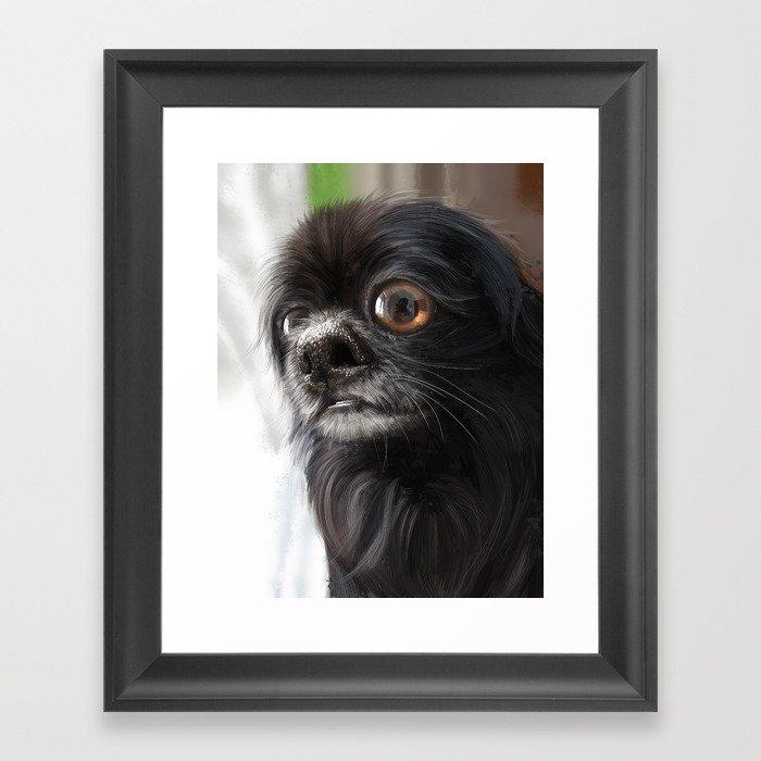 Choco Toshi Framed Art Print