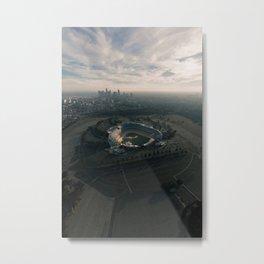 Los Angeles Stadium and Skyline Metal Print