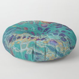 Sea of Colours - Volume 2 Floor Pillow