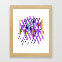 Abstract Checkboard Framed Art Print