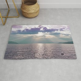 Kiss in the Lake Rug