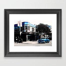 San Francisco Car Framed Art Print