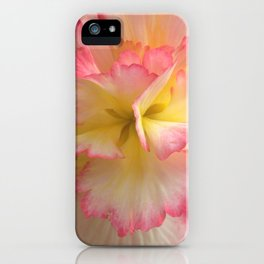 Charolette's Begonia by Mandy Ramsey, Haines, Alaska iPhone Case