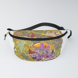 The Characters of Other Worlds Fanny Pack