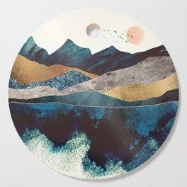 Blue Mountain Reflection Cutting Board