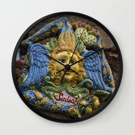 Ceramiche di Caltagirone Wall Clock