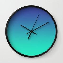 LUSH COVE - Minimal Plain Soft Mood Color Blend Prints Wall Clock