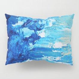 Beach Waves Crashing Pillow Sham