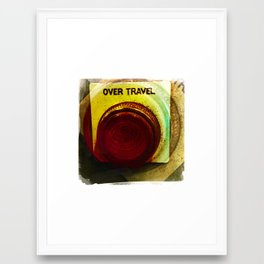 over travel 2 Framed Art Print