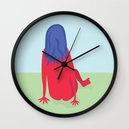 Day in the Park Wall Clock