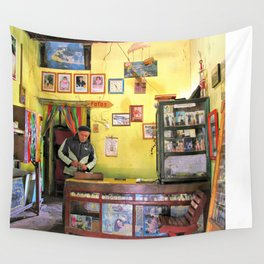 Foto Shop Wall Tapestry