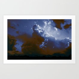 clouderton Art Print