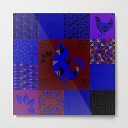 Patchwork41 Metal Print