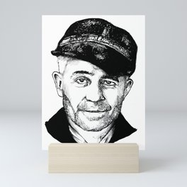 Ed Gein Mini Art Print
