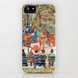 Maurice Prendergast Central Park, 1901 iPhone Case