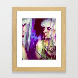 Miroir Framed Art Print