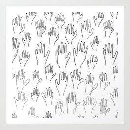 Handy Art Print