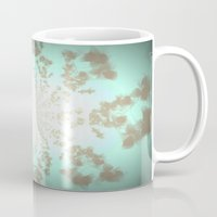 tiffany Mugs featuring Ethereal Tiffany by 2sweet4words Designs