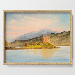 Eilean Donan Castle Scotland Serving Tray