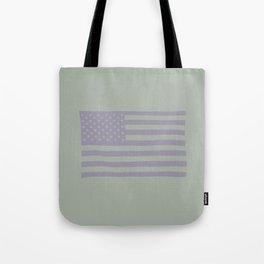 American Flag on Vernon Tote Bag