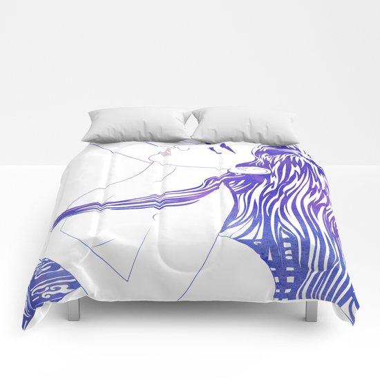 Water Nymph XVIII Comforters