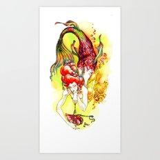 Mishelle Art Print