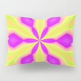 Purple and Green Pillow Sham