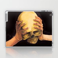 Head on Hands Laptop & iPad Skin