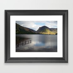 Buttermere and Fleetwith Pike Framed Art Print