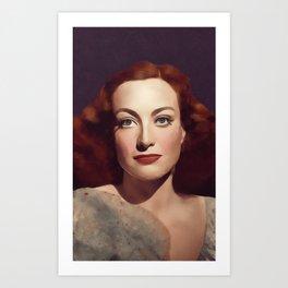 Joan Crawford, Hollywood Legend Art Print