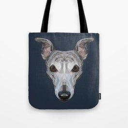 Whippet // Navy Tote Bag