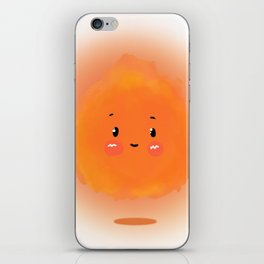 carrying a torch iPhone Skin