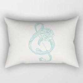 G-Clef Rectangular Pillow
