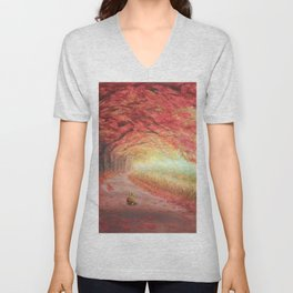 Autumn Journey Unisex V-Neck
