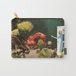 Under the Sea // Seahorses Carry-All Pouch