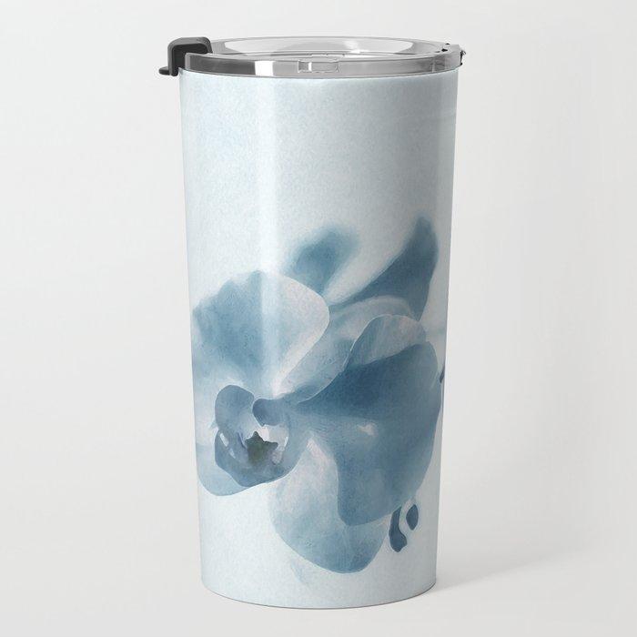 Orchid flowers Travel Mug