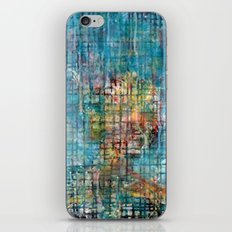 grid portrait iPhone & iPod Skin