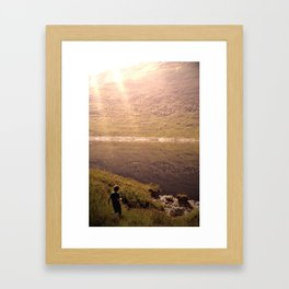 Road to Skye Framed Art Print