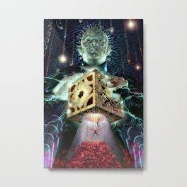 Pinhead and the Box Metal Print