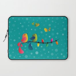 Fly High, My Babies - Merry Christmas Laptop Sleeve
