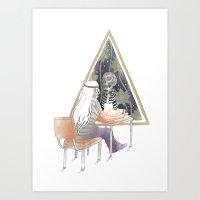 study Art Prints featuring Study by cruelo