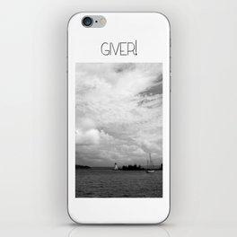 Giver Baddeck! iPhone Skin